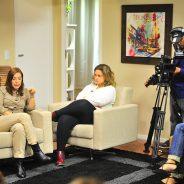 Autoras da Rede Globo se encontram com alunos da Oficina