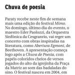 Paraty - MIMO Festival - Orquestra Sinfônica Cesgranrio - Chuva de Poesia