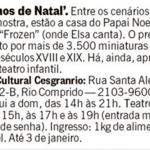 Sonhos de Natal Jornal O Globo
