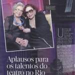 Revista Quem - Talentos - Prêmio Cesgranrio de Teatro 2015