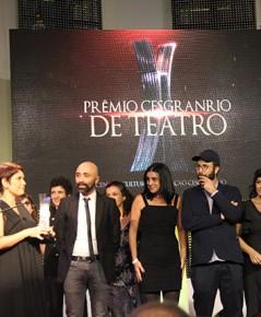 Confira os vencedores do 3º Prêmio Cesgranrio de Teatro
