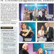 Auê é o grande vencedor do 4º Prêmio Cesgranrio de Teatro
