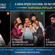 Teatro Cesgranrio – A nova opção cultural do Rio de Janeiro