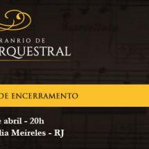 Curso Cesgranrio de Regência Orquestral encerra com concerto