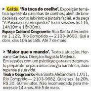 Jornal O Globo (Rio Show)