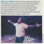 Maior que o Mundo – Revista Veja Rio (10-04-2017)