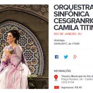 Orquestra Sinfônica Cesgranrio e Camila Titinger