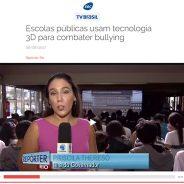 Escolas públicas usam tecnologia 3D para combater bullying