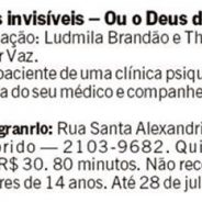 Jornal O Globo – Deuses Invisíveis