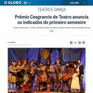 Prêmio Cesgranrio de Teatro anuncia os indicados do primeiro semestre