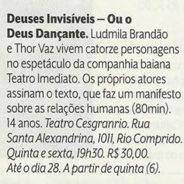 Veja Rio – Deuses Invisíveis