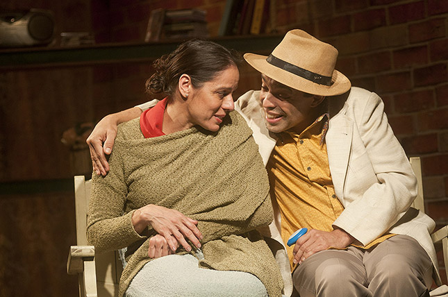 A Vida Passou por Aqui - Claudia Mauro e Édio Nunes - Teatro Cesgranrio