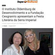 O Instituto Oldemburg de Desenvolvimento e a Fundação Cesgranrio apresentam a Festa Literária da Serra Imperial