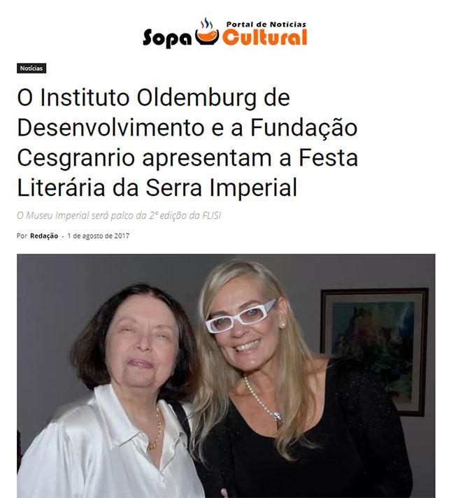 Flisi - Feira Literária da Serra Imperial - Fundação Cesgranrio