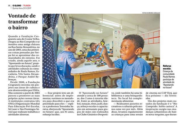 Fundação Cesgranrio investe em educação, cultura e arte - Presidente Carlos Alberto Serpa
