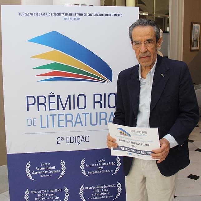 Prêmio Rio de literatura - 2ª Edição - Vencedores - Armando Freitas Filho – ROL