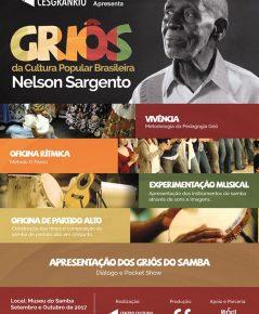 Griôs da Cultura Popular Brasileira – Nelson Sargento