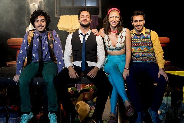 Teatro Cesgranrio - Espetáculos de outubro de 2017 - Tudo o Que Há Flora