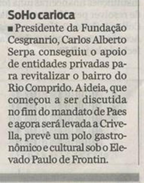 Sou Mais Rio Comprido - Fundação Cesgranrio