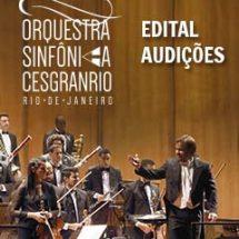 Orquestra Sinfônica Cesgranrio – Audições 2018 – Edital