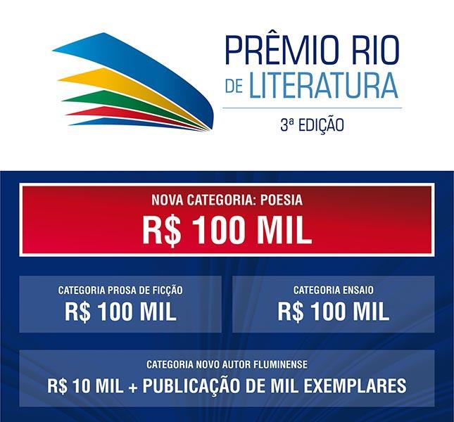 Prêmio Rio de Literatura – EDITAL 2017
