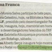 Zona Franca – Jornal O Globo (Espaço Cultural Cesgranrio)