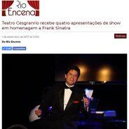 Teatro Cesgranrio recebe quatro apresentações de show em homenagem a Frank Sinatra