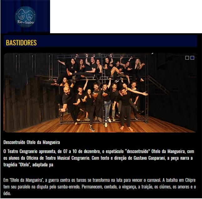 Oficina de Teatro Musical Cesgranrio