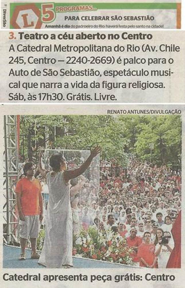 Auto de São Sebastião - Fundação Cesgranrio