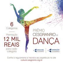 Prêmio Cesgranrio de Dança – 2018 – Regulamento