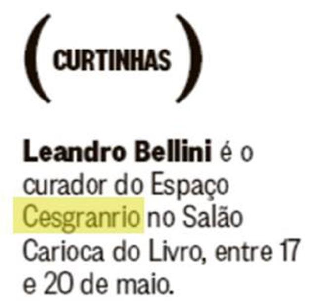 LER - Salão Carioca do Livro 2018