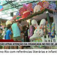 Exposição no Rio com referências literárias e infantis atrai a criançada