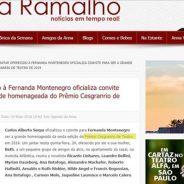 Jantar oferecido à Fernanda Montenegro oficializa convite para ser a grande homenageada do Prêmio Cesgranrio de Teatro de 2019