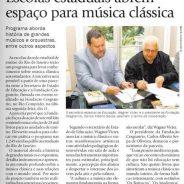 Escolas estaduais abrem espaço para música clássica