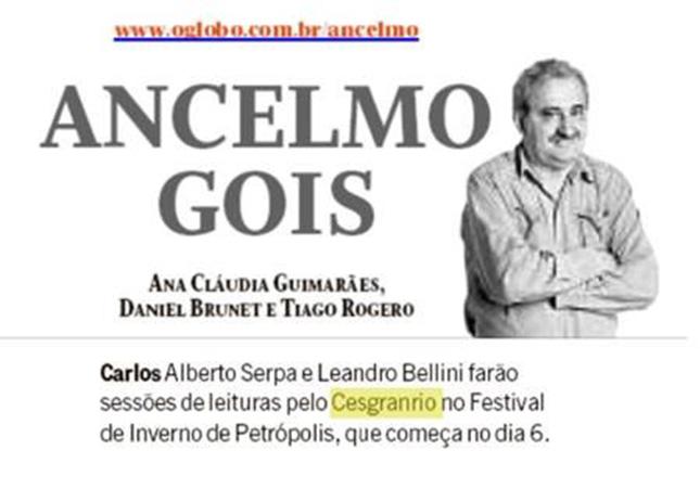 Festival de Inverno de Petrópolis - Fundação Cesgranrio