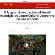 O Programão é o tradicional 'Arraiá-exposição' do Centro Cultural Cesgranrio, no Rio Comprido