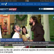 Arraiá no Rio de Janeiro oferece opções de entretenimento para a criançada