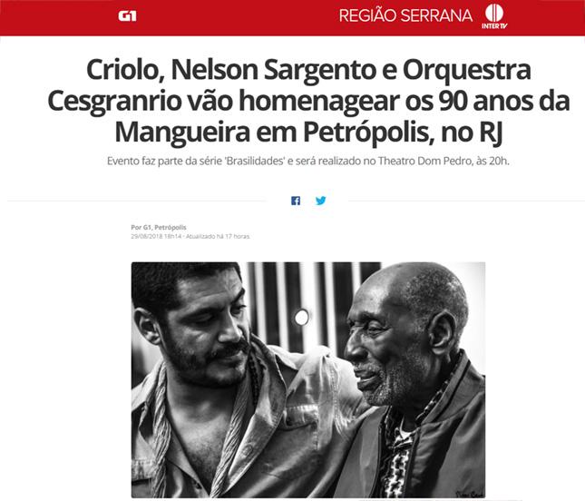 Orquestra Sinfônica Cesgranrio - Criolo e Nelson Sargento