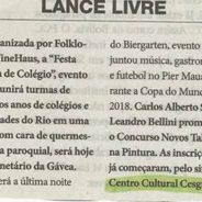 Jornal do Brasil (Lance Livre) – 16-07-2018 – 3º Concurso Cultural Novos Talentos da Pintura (2018)