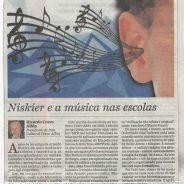 Niskier e a música nas escolas