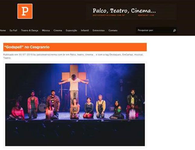Teatro Cesgranrio - Godspell
