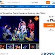 Musical Godspell no Teatro Cesgranrio: Ingresso para Plateia