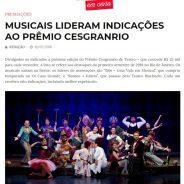 MUSICAIS LIDERAM INDICAÇÕES AO PRÊMIO CESGRANRIO