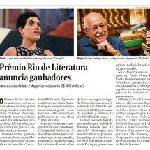 Prêmio Rio de Literatura anuncia vencedores