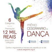 Prêmio Cesgranrio de Dança – Edição 2019/2020 – Regulamento