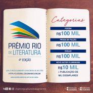 4º Prêmio Rio de Literatura – 2018 – Edital