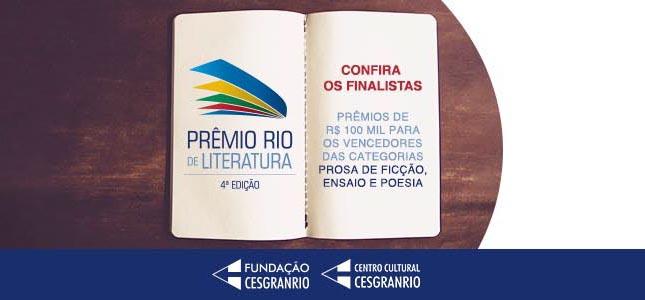 4º Prêmio Rio de Literatura - Finalista