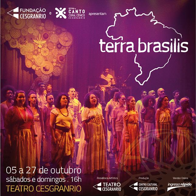 Oficina de Canto Coral Cênico Cesgranrio - Terra Brasilis - 2019