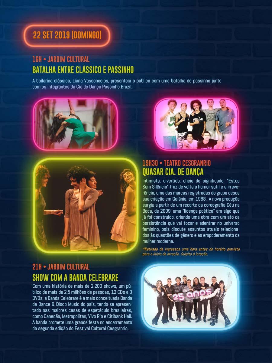 Festival Cultural Cesgranrio 2019