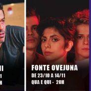 Confira os espetáculos em cartaz no Teatro Cesgranrio